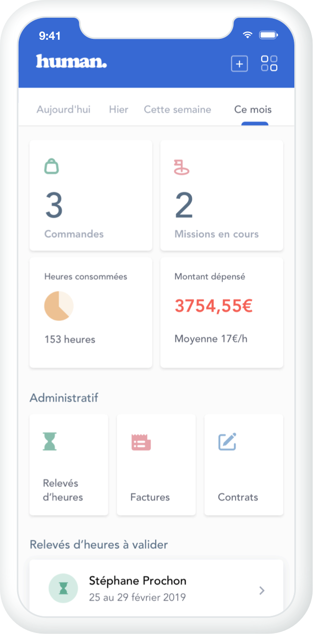 application ios android recrutement
